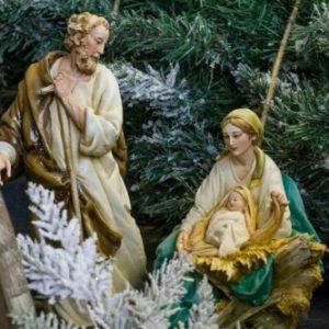 """Porcellana di Capodimonte, """"NATIVITÀ Presepe, Sacra Famiglia. Alta qualità."""