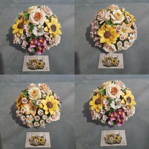 fiori in porcellana