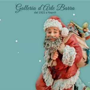 """Porcellana di Capodimonte """"Babbo Natale con il Sacco"""""""