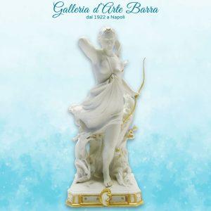 Porcellane di Capodimonte, Diana cacciatrice versione Biscuit