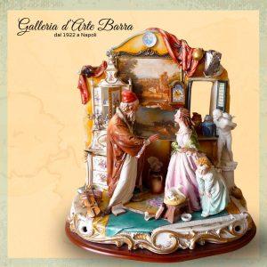 Porcellana Capodimonte. La Bottega dell'antiquario