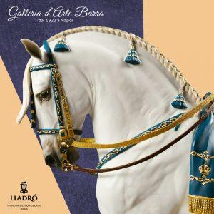 Porcellana Artistica Cavallo.Edizione limitata. Cavallo di razza pura spagnola