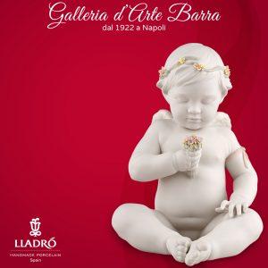 Lladró Porcellana artistica by Lladro in porcellana bianca. Angelo Celestiale