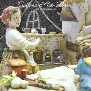 """Porcellana di Capodimonte, """"C'era una volta"""" Formidabile creazione."""
