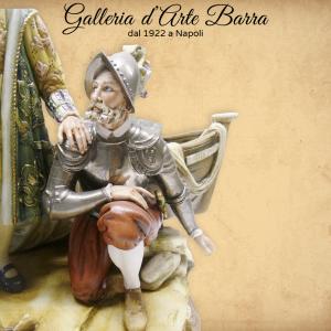 """Porcellana di Capodimonte, Cristoforo Colombo """"Christopher Columbus"""""""