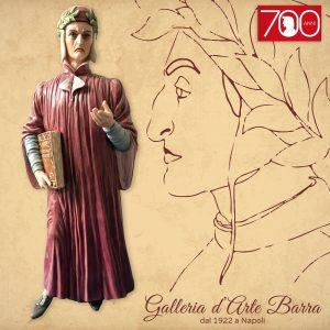 Porcellana Capodimonte Dante Alighieri. Creazione  esclusiva firmata Maggioni