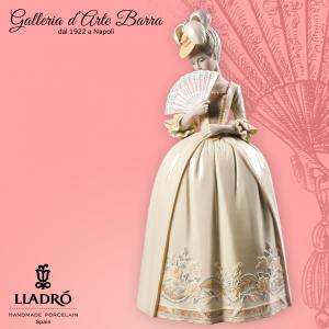 Lladró Porcellana artistica by Lladro. Scultura Figura, Donna Baci di porcellana