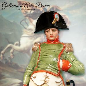 Soldato in Porcellana di Capodimonte,  NAPOLEONE firmato Merli