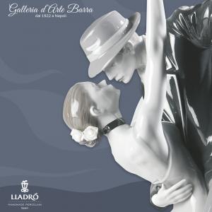 Porcellana artistica By Lladro. Coppia Tango appassionato.