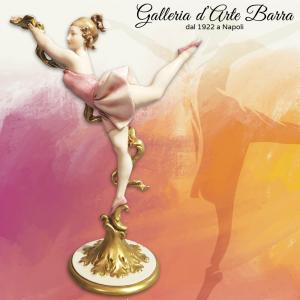 Porcellana Capodimonte, G.Cappè  Ballerina Volo D'Angelo