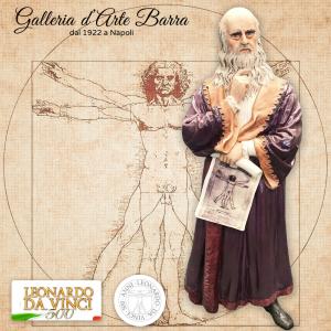Porcellana Capodimonte Leonardo da Vinci. Creazione esclusiva firmata Maggioni