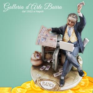 Porcellana di Capodimonte. Banchiere, Finanziere.