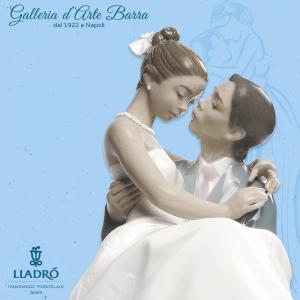 Porcellana artistica by Lladró. Figura, Coppia Il giorno più felice