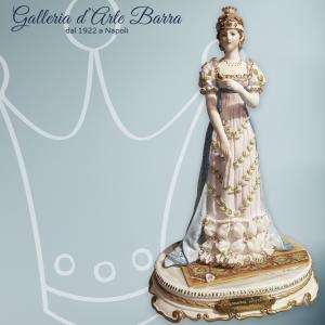 "Porcellana di Capodimonte: Imperatrice Josephine ""Giuseppina di Beauharnais"""