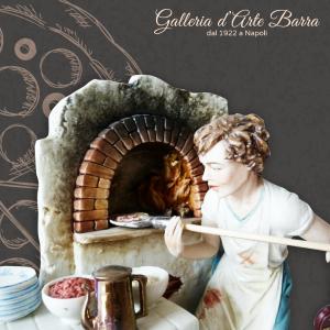 Porcellana di Capodimonte. IL Pizzaiolo. Realistica creazione.
