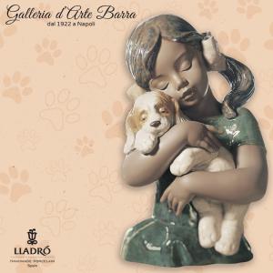 Lladró Porcellana artistica in gres, by Lladro. IL mio primo cucciolo