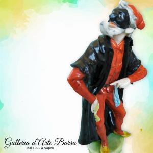 PORCELLANA DI CAPODIMONTE Maschera Pantalone By Merli