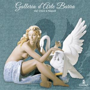 Lladró Porcellana artistica Gres by Lladro. Figura, Scultura Leda e il cigno.