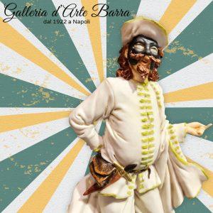 Porcellana di Capodimonte, Maschera Carnevale, BRIGHELLA