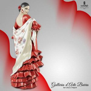 Porcellana Artistica by Lladró. Figura di donna, Anima di Flamenco.