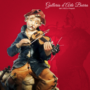 Porcellana di Capodimonte. Il povero Violinista. Creazioni d'altri tempi.