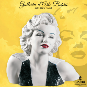 Lladró Porcellana artistica By Lladro. Busto Marilyn Monroe