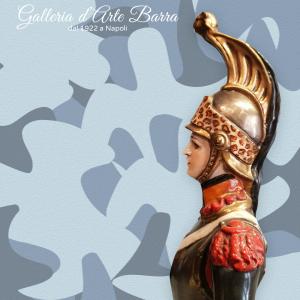 Porcellana Capodimonte. Soldato Dragone serie Napoleonica. Raro anni 80